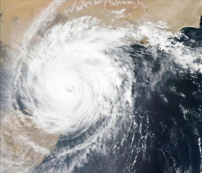 Sattelite Image of Hurricane`